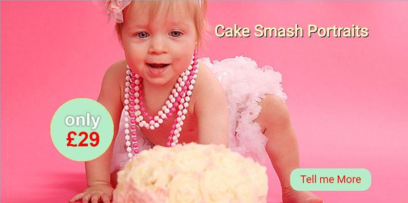 Cake Smash Portraits Redpath Photos