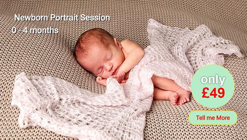 Newborn Portrait Offer Redpath Photos